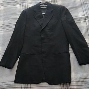 Armani 3-button Black Wool Blazer